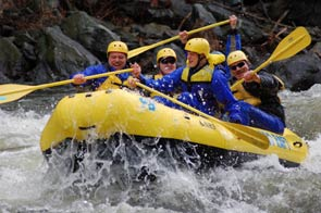Whitewater Rafting Tennessee, Rafting in the Smokies