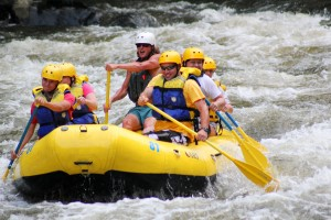 Pigeon river Rafting, Gatlinburg Rafting, Rafting in the Smokies