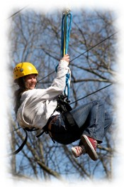 Smoky Mountain Vacations, Family fun in the Smoky Mountains, Zipline in the Smokies