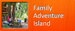 Family Adventure Island at Rafting in the Smokies