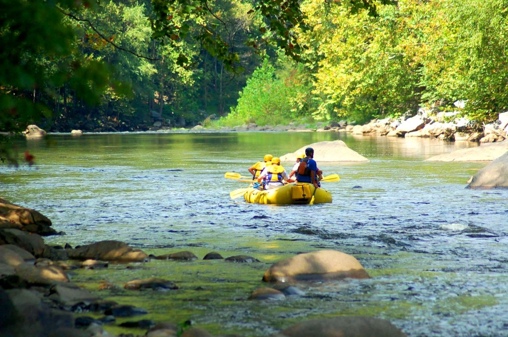 Fall Rafting in the Smokies