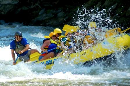 Gatlinburg White Water Rafting, Rafting in the Smokies