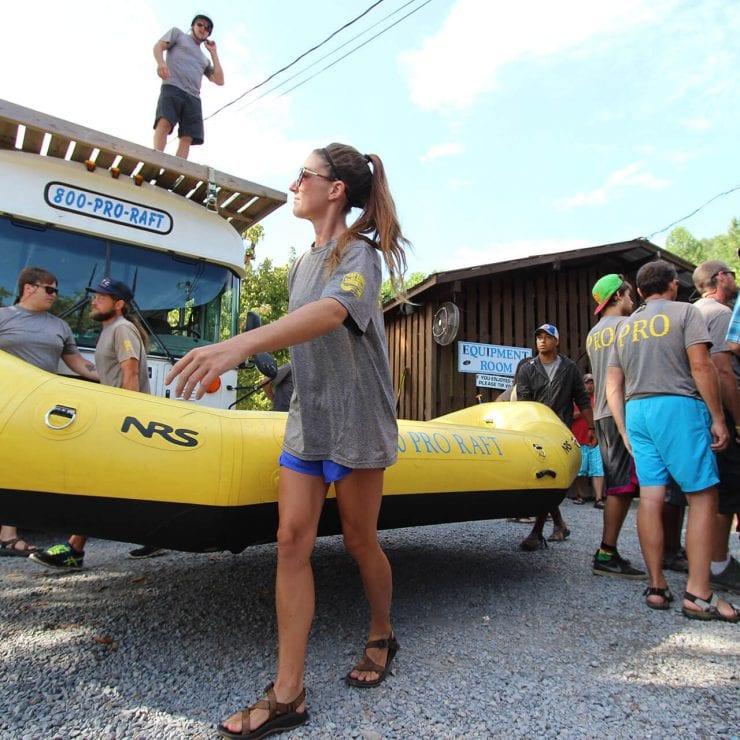 Rafting in the Smokies   Whitewater / Float   Zipline